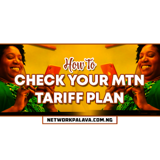 how to check mtn tariff plan