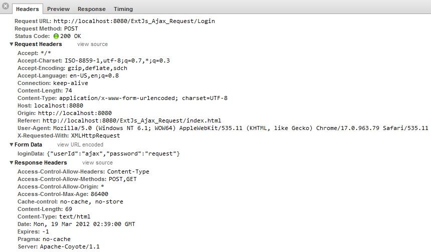Validating json response object