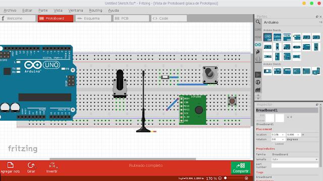 Fritzing - Software para circuitos electrónicos