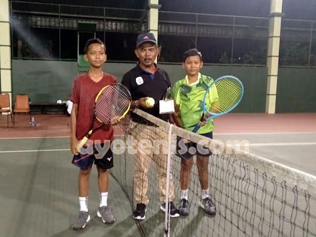 Diego Armando Maju ke Putaran 2 Kejurnas Tenis New Armada Cup XXIV