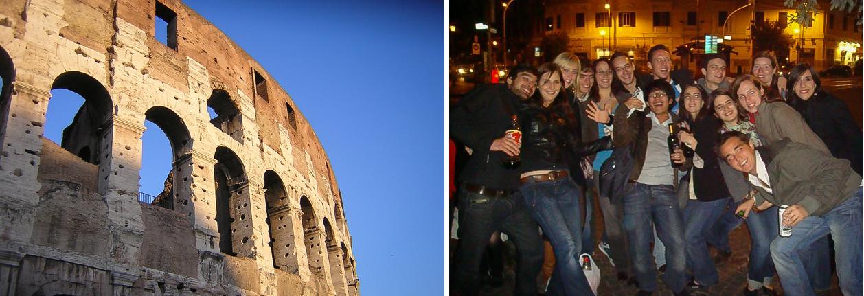 Pourquoi partir erasmus voyage stage Rome Italie