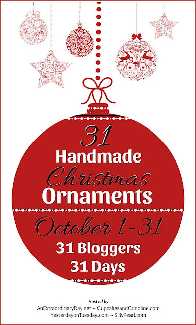 31 blogger share creative holiday ornaments.