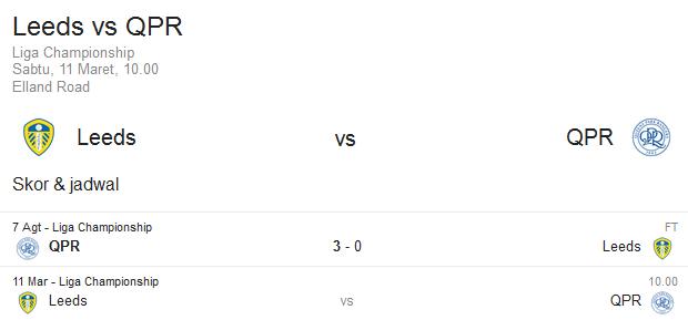 Prediksi Leeds United vs Queens Park Rangers | Polisibola.com