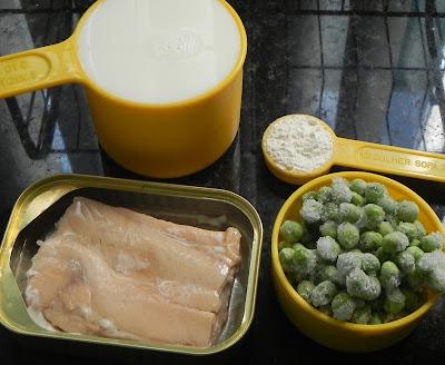 macarrão com molho branco