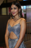 Rhea Chakraborty in a Sleeveless Deep neck Choli Dress Stunning Beauty at 64th Jio Filmfare Awards South ~  Exclusive 115.JPG