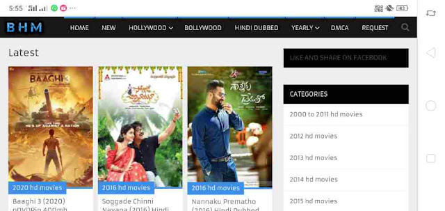 BestHDmovies | Download lastest HD Bollywood,Hollywood,South indian dubbed movies for free.