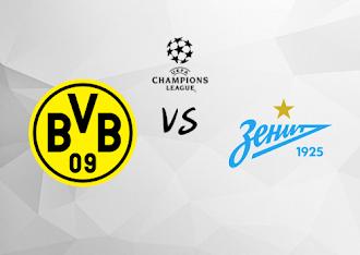 Borussia Dortmund vs Zenit San Petersburgo  Resumen y Partido Completo