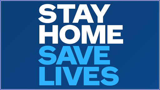 stay home save life