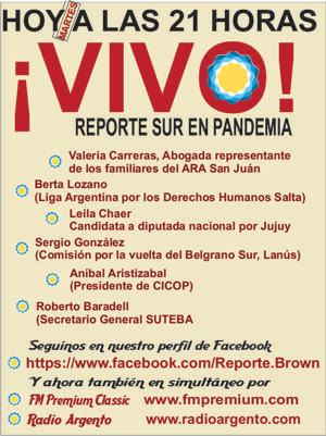 Hoy a las 21... EL VIVO de REPORTE
