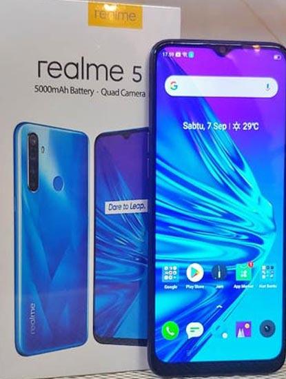 Harga dan Spesifkasi Realme C5 RAM 3GB dan 4GB