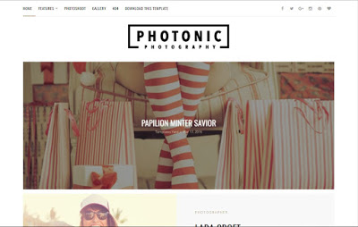 Photonic responsive blogger template