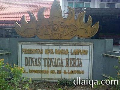 Dinas Tenaga Kerja Kota Bandar Lampung