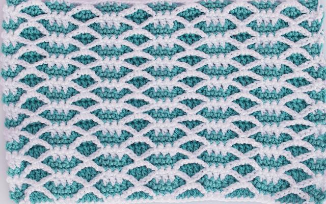 2 -Crochet Imagen Puntada combinada de otoño a crochet y ganchillo por Majovel Crochet