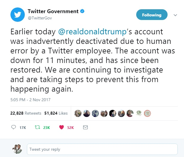 Why Was Donald Trump's Twitter Down?