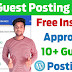 10+ Best High Authority Instant Approval Guest Posting Sites List 2021 | Teckum |