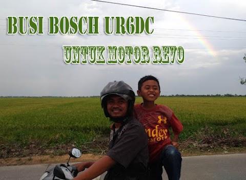 Busi Bosch UR6DC untuk Motor Revo Susindra