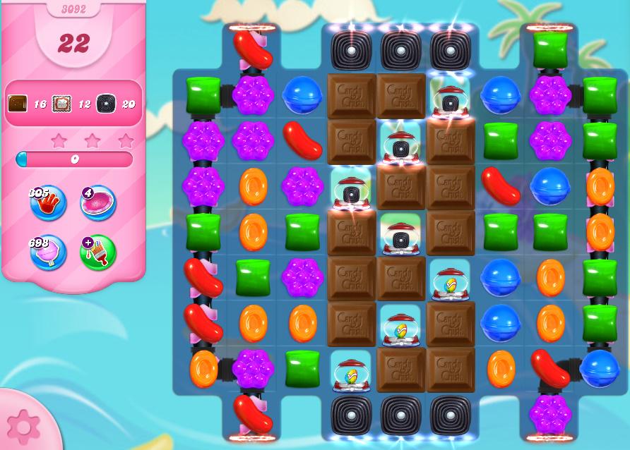 Candy Crush Saga level 3092