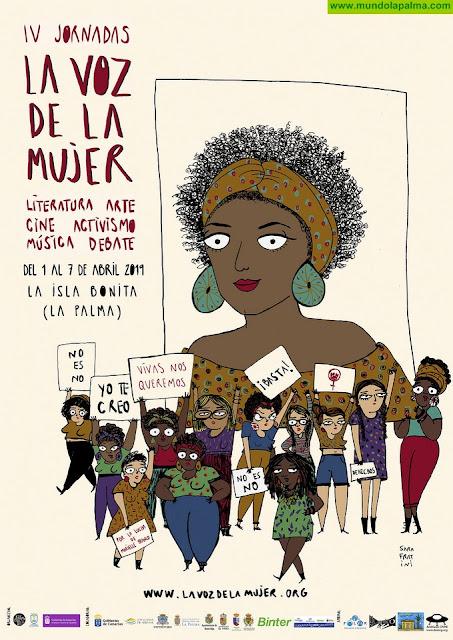 Las figuras femeninas más destacadas del activismo y la cultura se reunirán en La Palma con motivo del festival 'La voz de la mujer'
