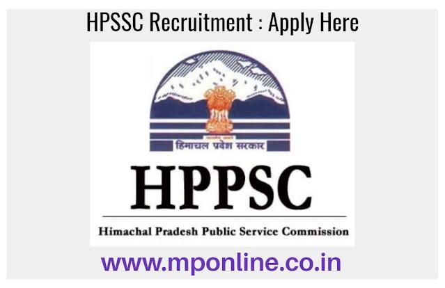 HPSSC Vacancy 2020