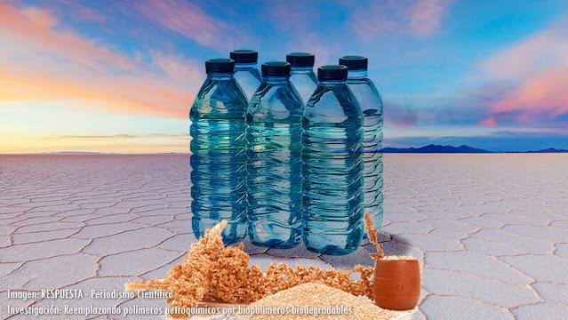 Bioplásticos con residuos de la quinua y microorganismos del Salar de Uyuni