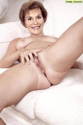 Naked nude female judge