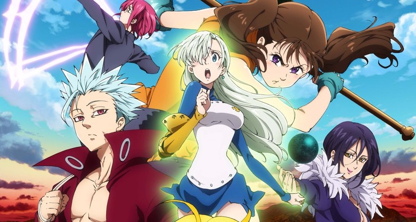 Seven Deadly Sins 2nd Season Trailer Preview Anime OP.