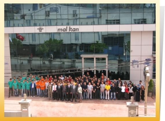 Đội ngũ nhân sự và hệ thống quản lý của Malkan
