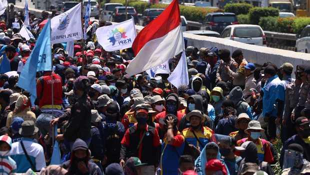 KSPI Bakal Gelar Aksi May Day Berpusat di Istana dan Gedung MK