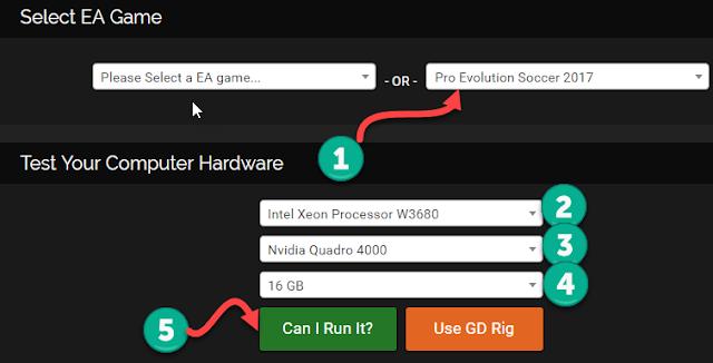 مواصفات و متطلبات تشغيل لعبة بيس 2017 وهل ستشتغل على حاسوبك ؟