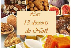 LES 13 DESSERTS DE NOEL EN PROVENCE