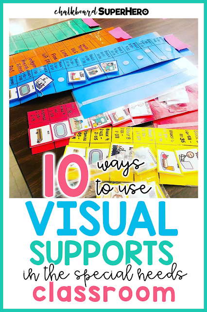 10 ways to use visual supports in the special education classroom