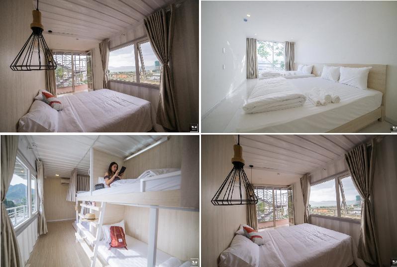 Hostel Container đẹp như giấc mơ view toàn thành phố biển Nha Trang