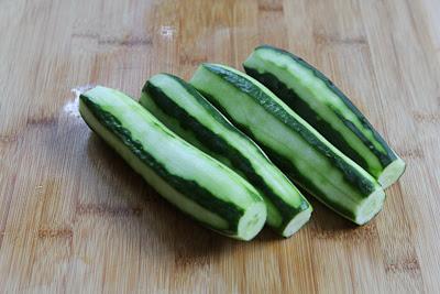 Chinese Cucumber Salad found on KalynsKitchen.com