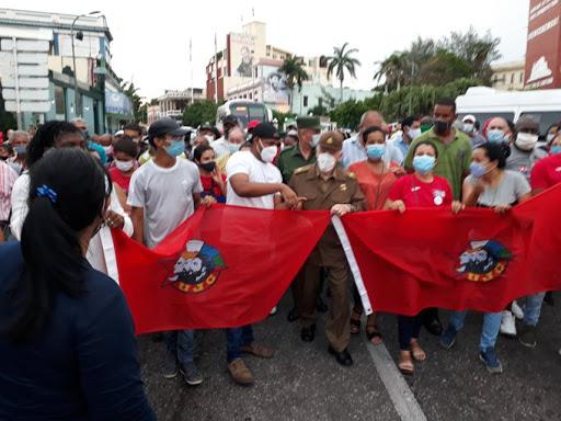 CASA BRANCA USA PANDEMIA PARA PATROCINAR MANIFESTAÇÕES EM CUBA: NENHUM APOIO AS MARCHAS MADE IN USA!