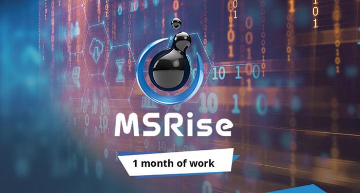 Месяц работы MSRise