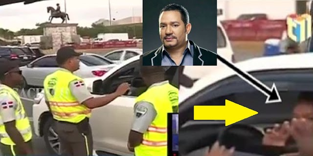 """Video """"Sancionarán"""" agentes no multaron bachatero Frank Reyes por andar sin placa"""