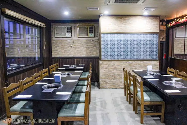 Interior of Korean Village Restaurant in Malate, Manila