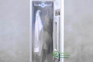 Giặt hấp vest bằng LG Styler - giữ nguyên form dáng của Vest , khử trùng an toàn cho sức khỏe chủ nhân