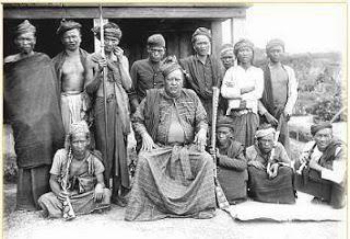 Gambar 4: Raja Dolog Silou, Tuan Tanjarmahei Purba Tambak tahun 1920 yang merupakan raja dari golongan Tarigan Tambak, Tarigan Tua, Tarigan Gerneng, dan Tarigan Silangit