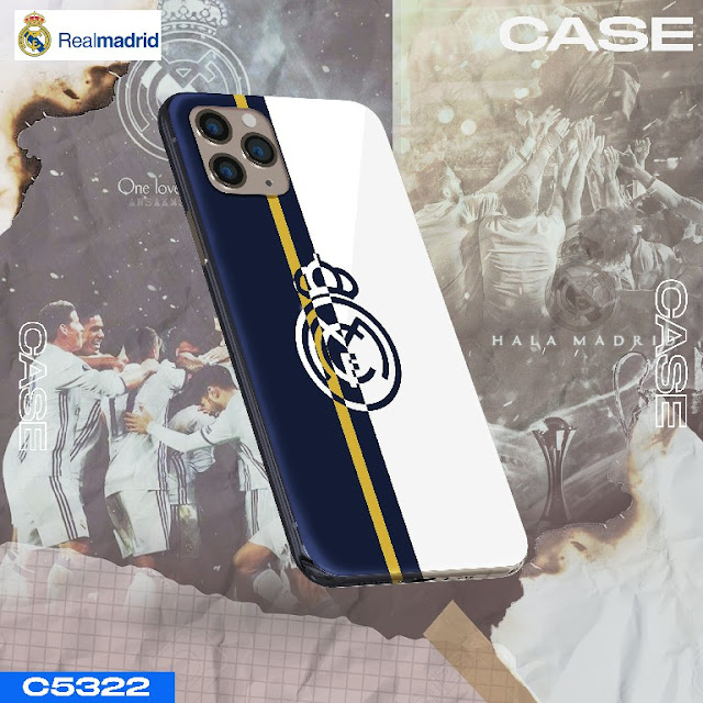 casing handphone logo madrid