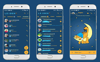 Moon On Animal Theme For YOWhatsApp & Fouad WhatsApp By Leidiane