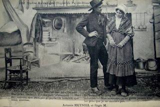 carte postale ancienne Auvergnate