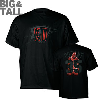 Big and Tall Kevin Durant Notorious T-Shirt