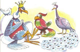 Fábula: El águila y las aves