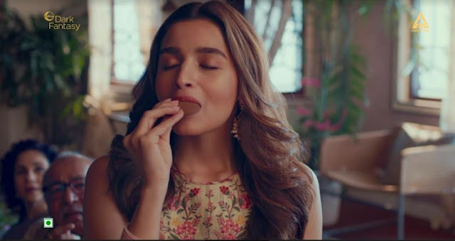 Alia Bhatt rejoices the 'New Meetha' - Sunfeast Dark Fantasy