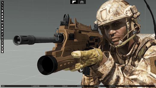 Arma3用イタリア軍MODのMRX160