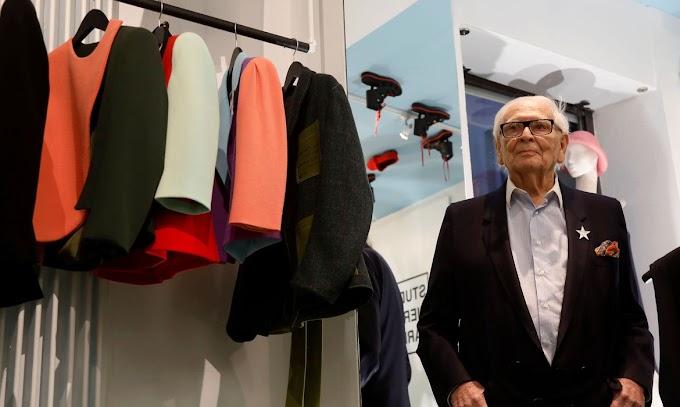 Internacional: Estilista Pierre Cardin morre aos 98 anos
