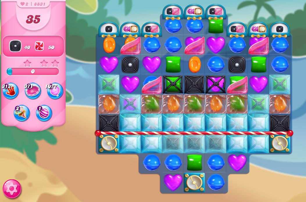 Candy Crush Saga level 8831