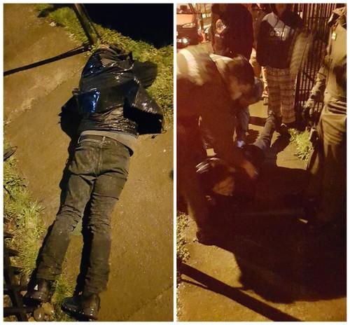 🚨Osorno: Ladrón descubierto por vecinos es entregado a Carabineros
