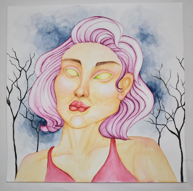 Beautiful Art Works by Nadia Chilmonik